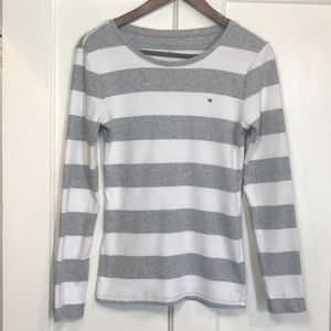 Tommy Hilfiger Stripes Long Sleeve Tee
